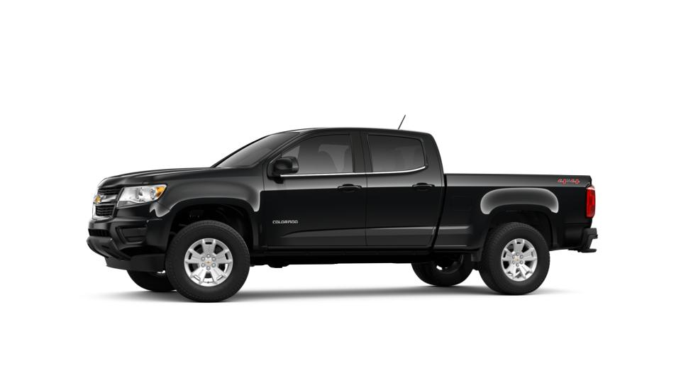 New Truck 2019 Black Chevrolet Colorado Crew Cab Long Box
