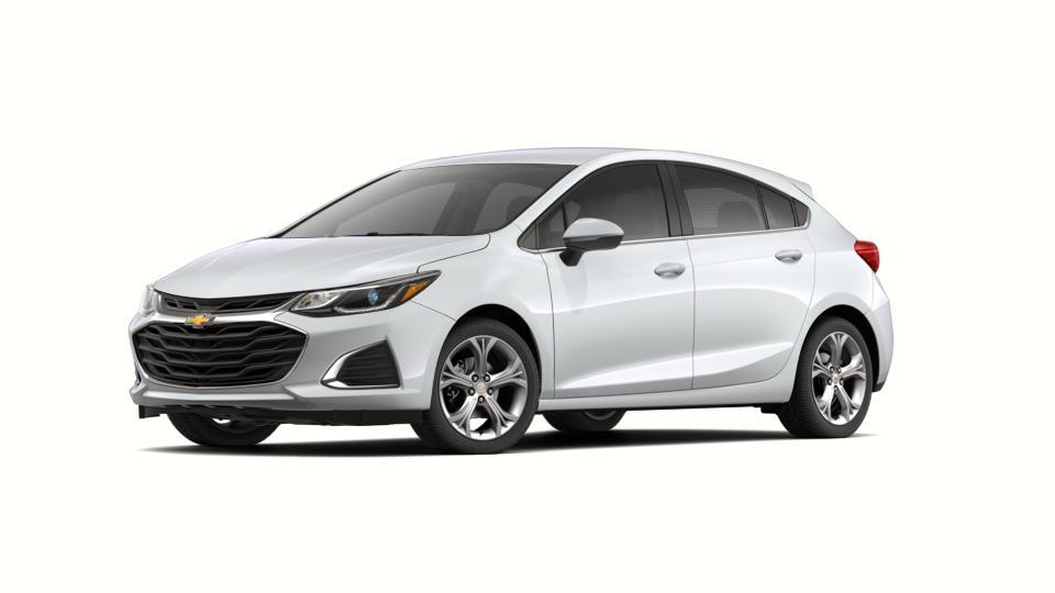 New 2019 Chevrolet Cruze Hatchback Premier summit white exterior jet blackgalvanized interior 6-