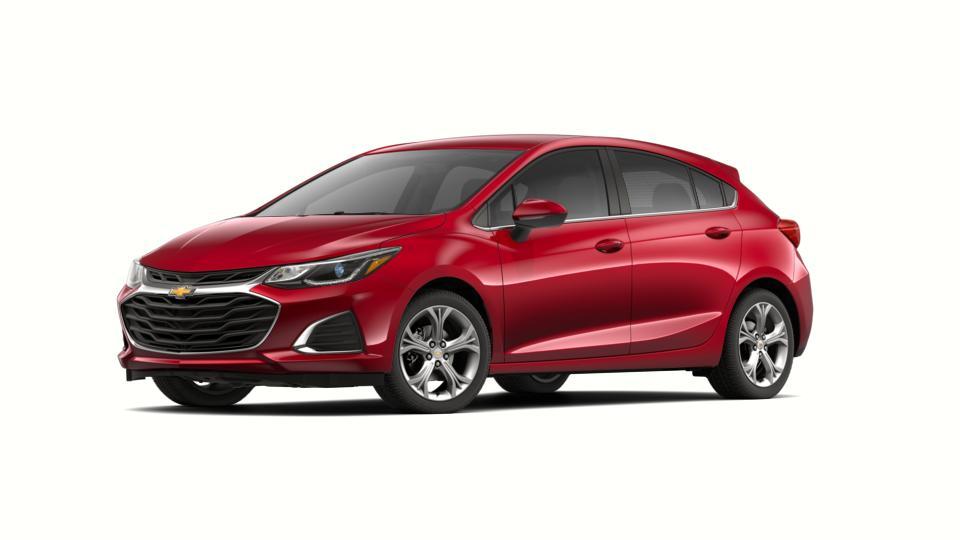 New 2019 Chevrolet Cruze Hatchback Premier cajun red tintcoat exterior jet black interior 6-speed