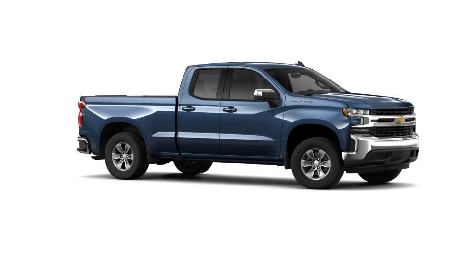 new 2019 blue chevrolet silverado 1500 double cab standard box 2