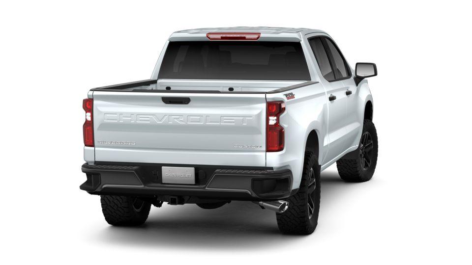 2019 Chevrolet Silverado 1500 Crew Cab Short Box 4-Wheel Drive Custom Trail Boss in Summit White ...
