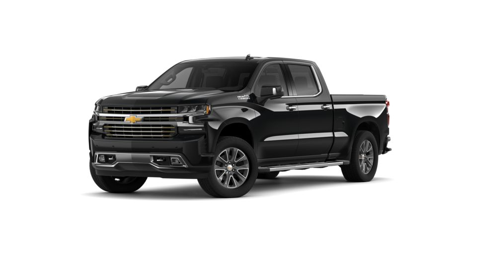 New 2019 Chevrolet Silverado 1500 Crew Cab Standard Box 4-Wheel Drive High Country black exterior