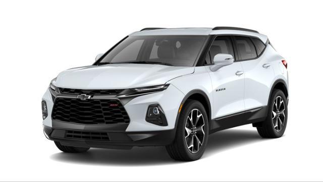 Clermont Summit White 2019 Chevrolet Blazer New Suv For Sale Ks574254