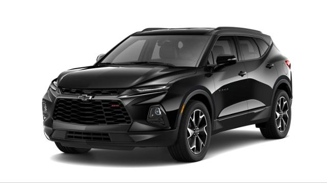 New Suv 2019 Black Chevrolet Blazer Rs For Sale In Charlotte