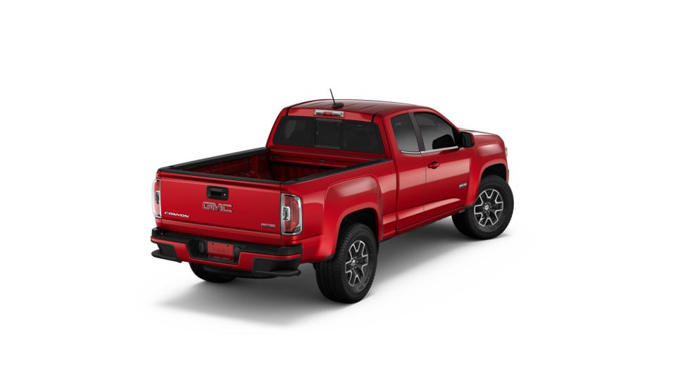 new 2018 red quartz tintcoat gmc canyon extended cab long. Black Bedroom Furniture Sets. Home Design Ideas