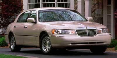 Used Midnight Gray Cc Met 1998 Lincoln Town Car Executive For Sale