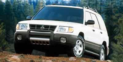 2001 Subaru Forester Vehicle Photo in Moon Township, PA 15108
