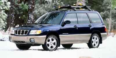 2001 Subaru Forester Vehicle Photo in Colorado Springs, CO 80905