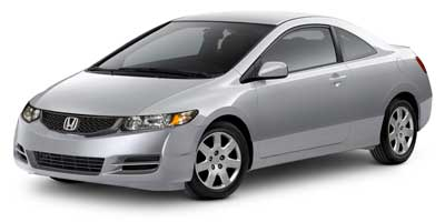 2010 Honda Civic Coupe Vehicle Photo in Apex, NC 27523