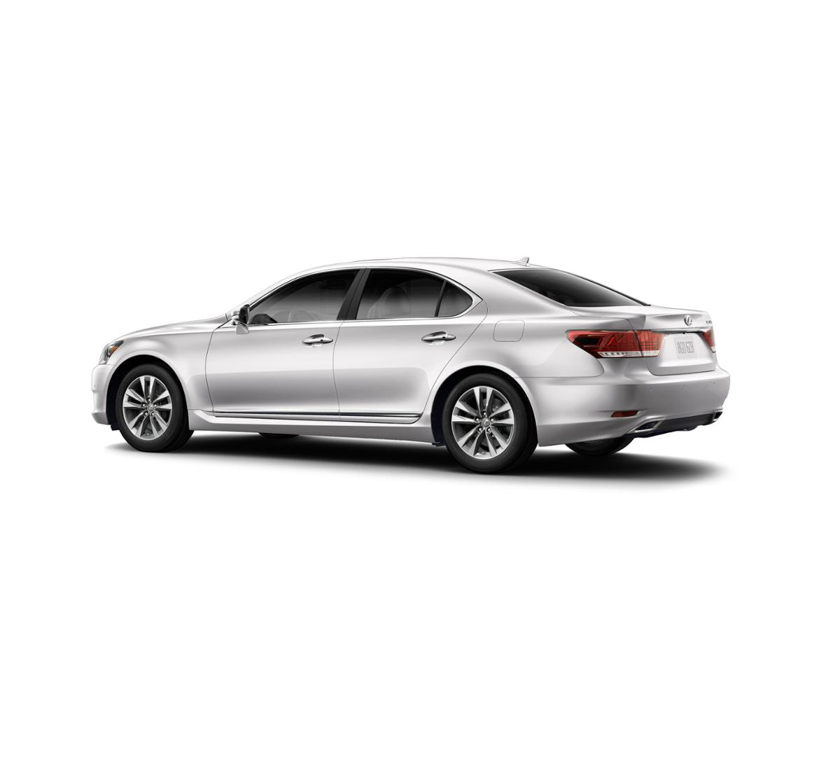 Certified Eminent White Pearl 2017 Lexus LS 460 RWD For