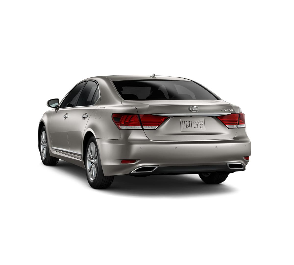 Newport News Atomic Silver 2017 Lexus LS 460: Certified