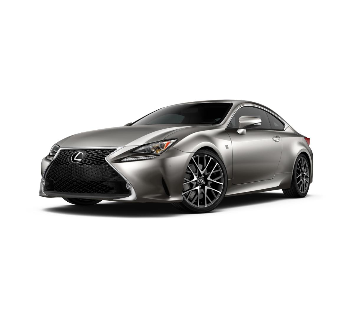 2017 Lexus RC 350 Atomic Silver Stock #45469 From Larry H