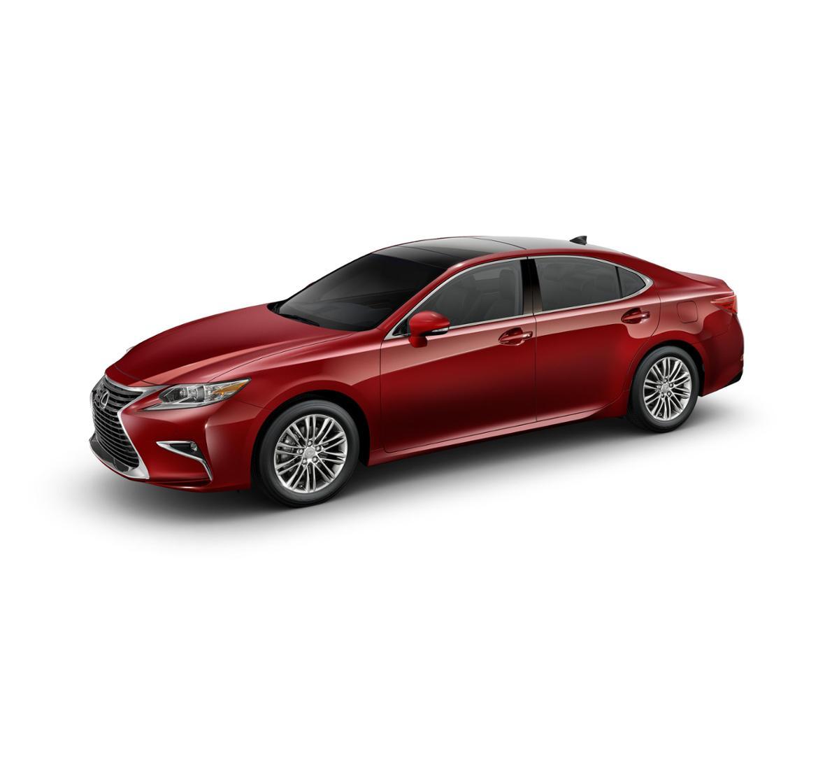 Dallas New 2018 Lexus ES 350 Matador Red Mica: Car For
