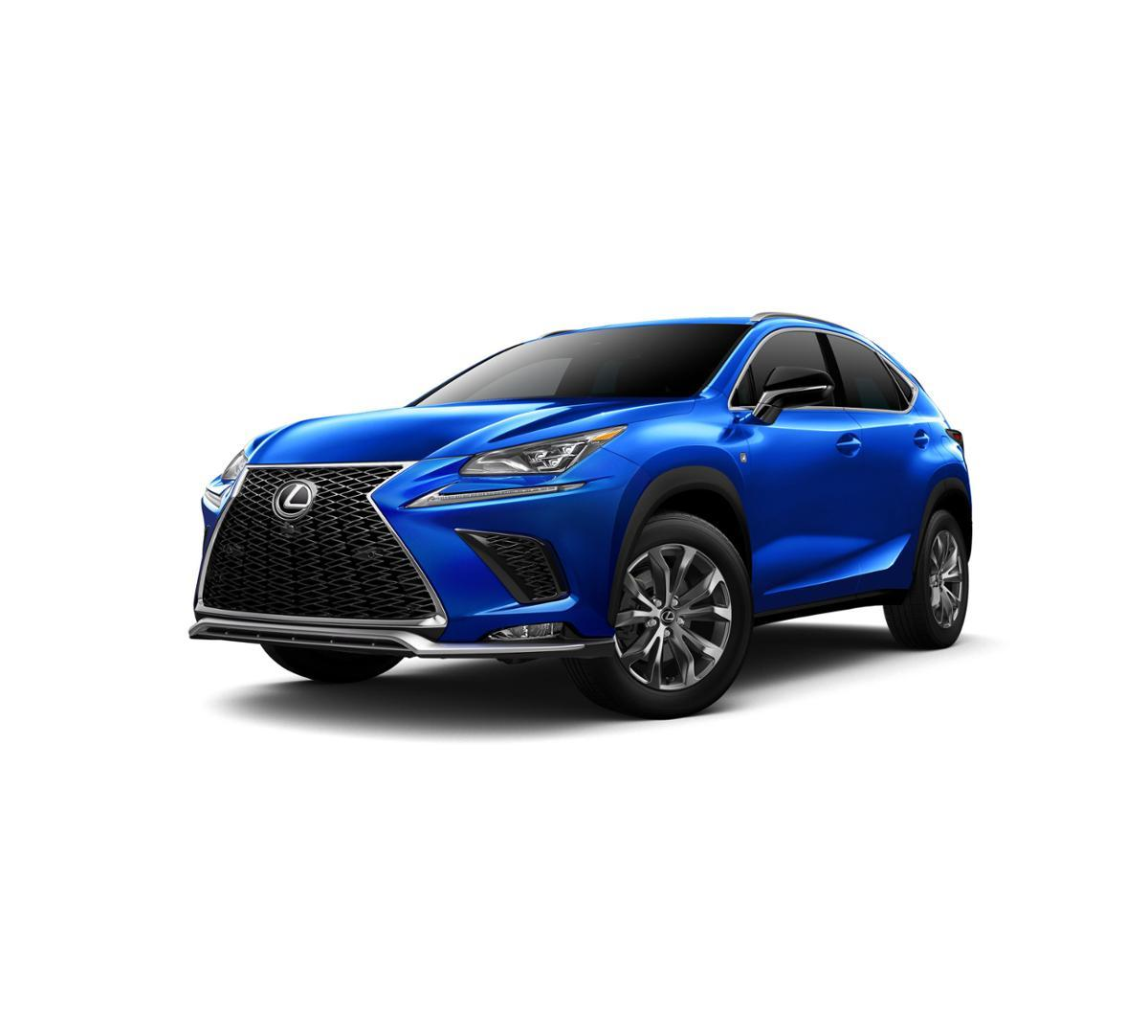 New 2018 Lexus NX 300 (Ultrasonic Blue Mica) for Sale in Houston, Pearland & League City, TX