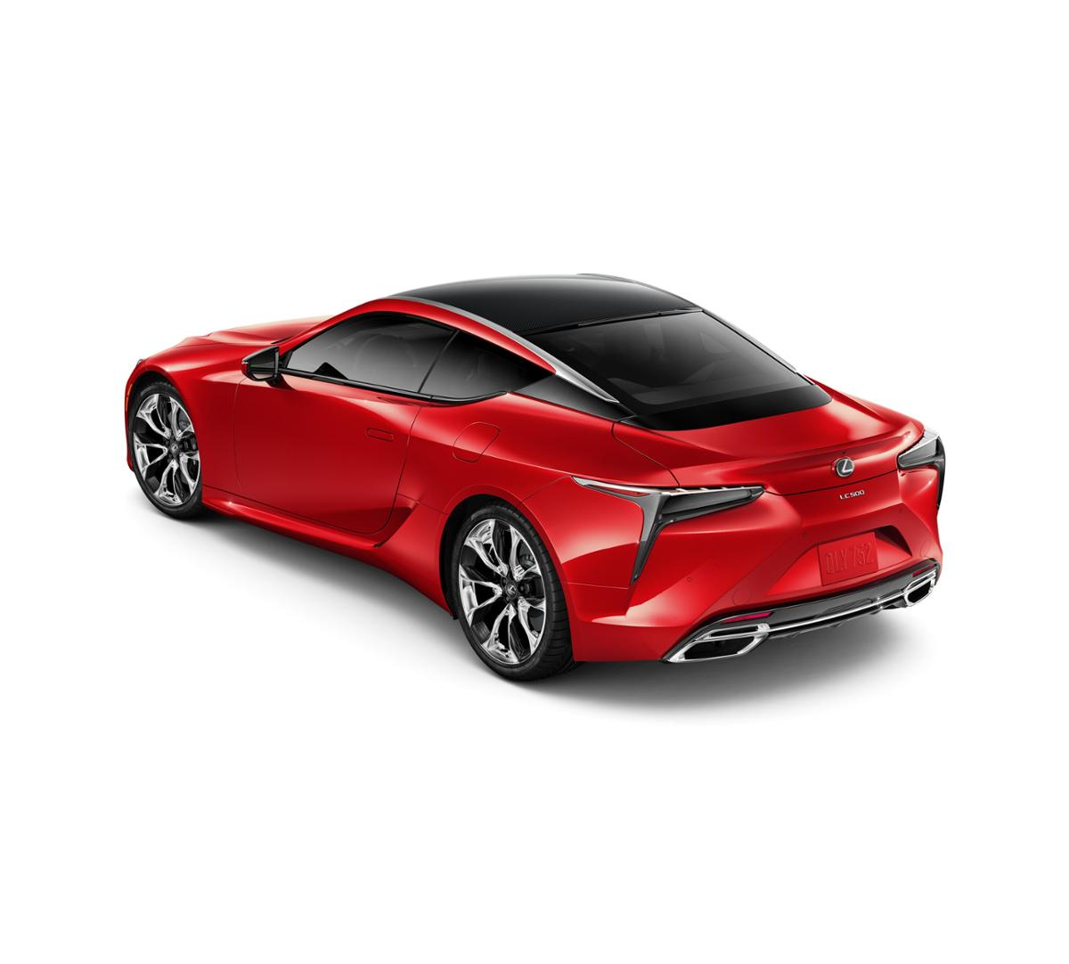 Brentwood Infrared 2018 Lexus LC 500: New Car For Sale