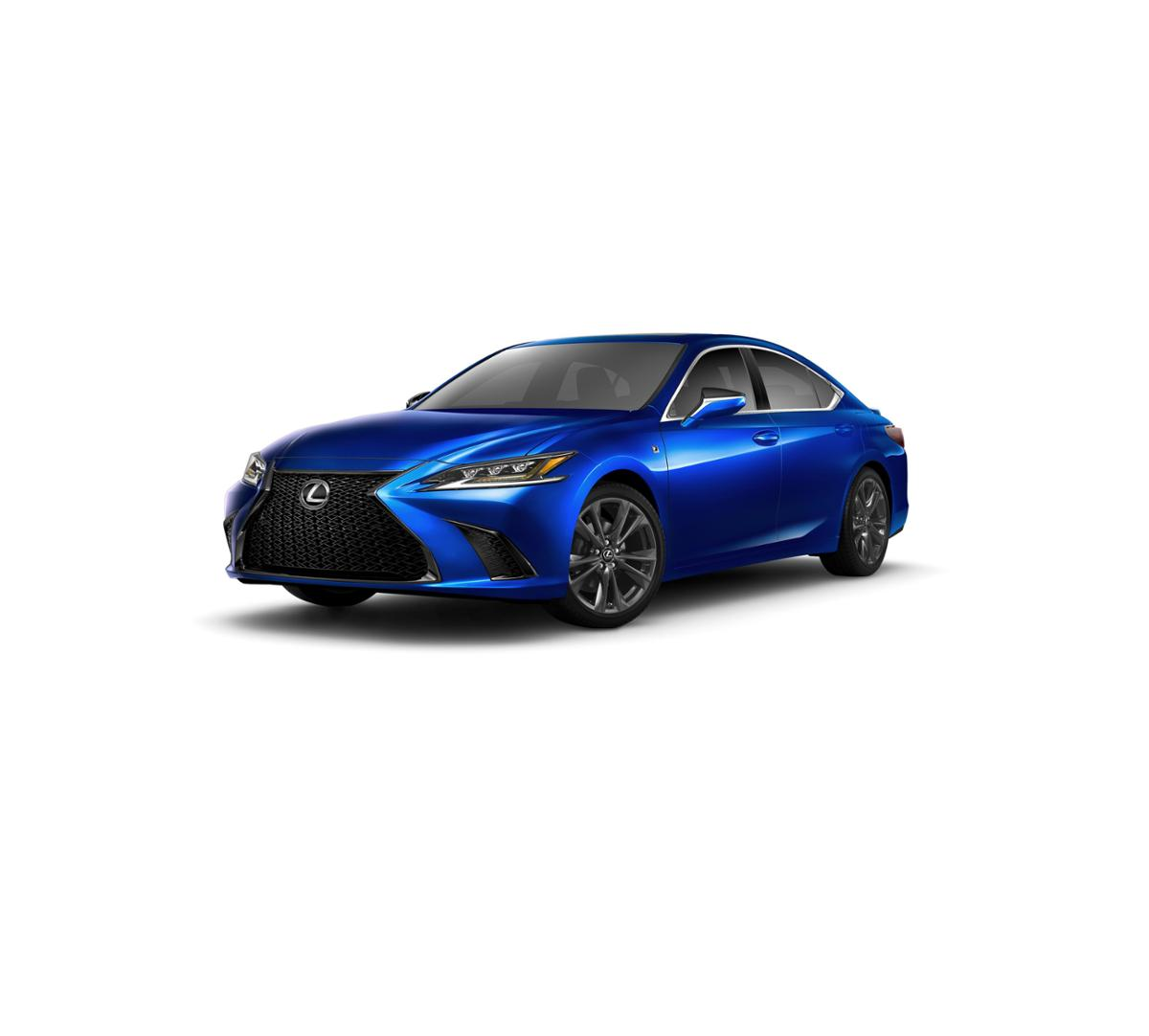New Ultrasonic Blue Mica 0[ULTRASONIC17] 2019 Lexus ES 350