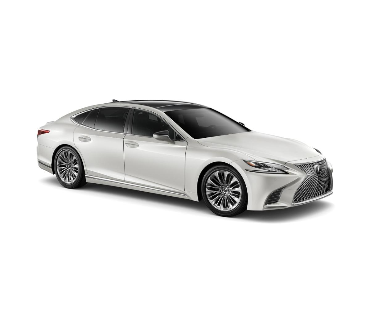 freehold eminent white pearl 2019 lexus ls 500 new for sale f190738. Black Bedroom Furniture Sets. Home Design Ideas