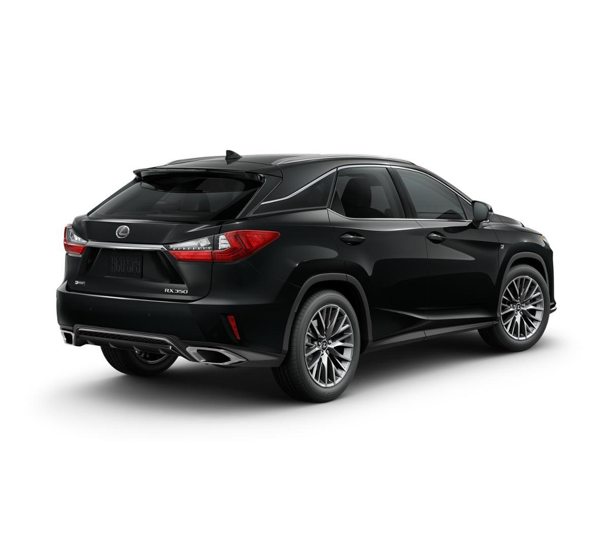Lexus Rx 350 Lease: New Obsidian 2019 Lexus RX 350 F SPORT In Tampa, FL