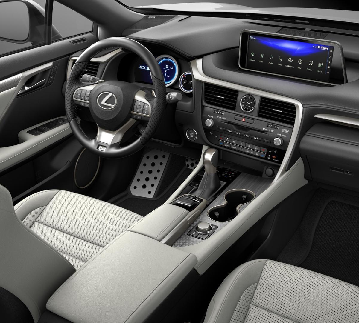 Lexus Rx350 Lease: New Silver Lining Metallic 2019 Lexus RX 350 F SPORT In