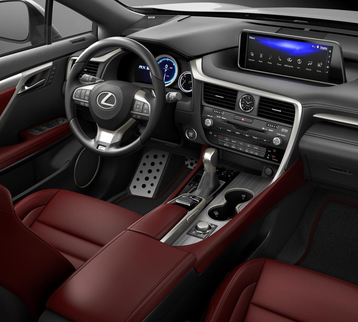 Lexus Rx350 Lease: Nebula Gray Pearl 2019 Lexus RX 350 F SPORT Alexandria