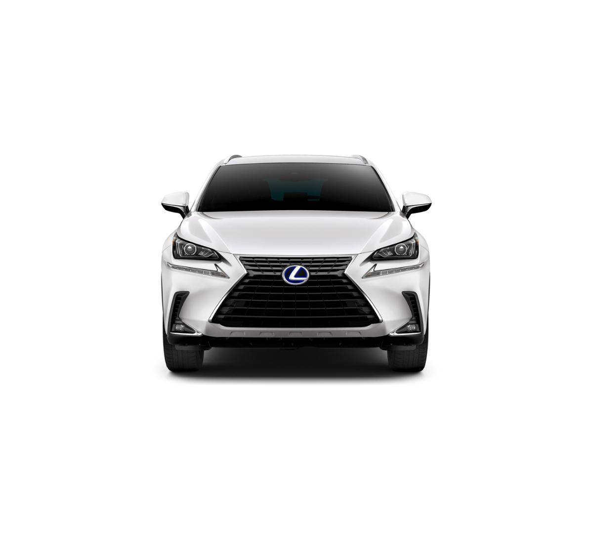 Dallas New 2019 Lexus NX 300h Eminent White Pearl: Suv For