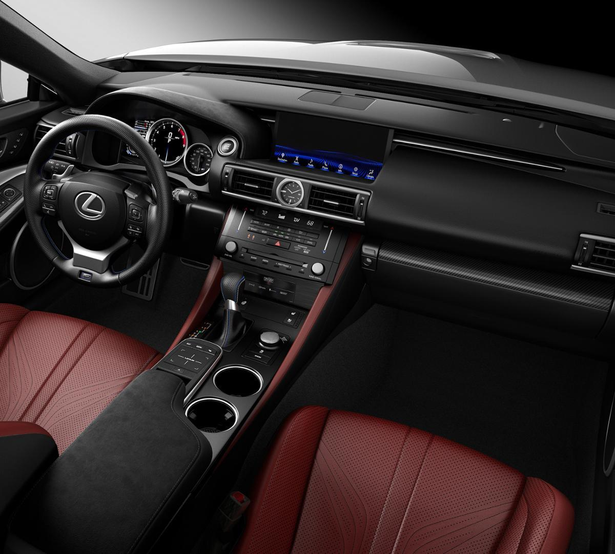 2019 Lexus RC F Vehicle Photo in Fort Worth, TX 76132
