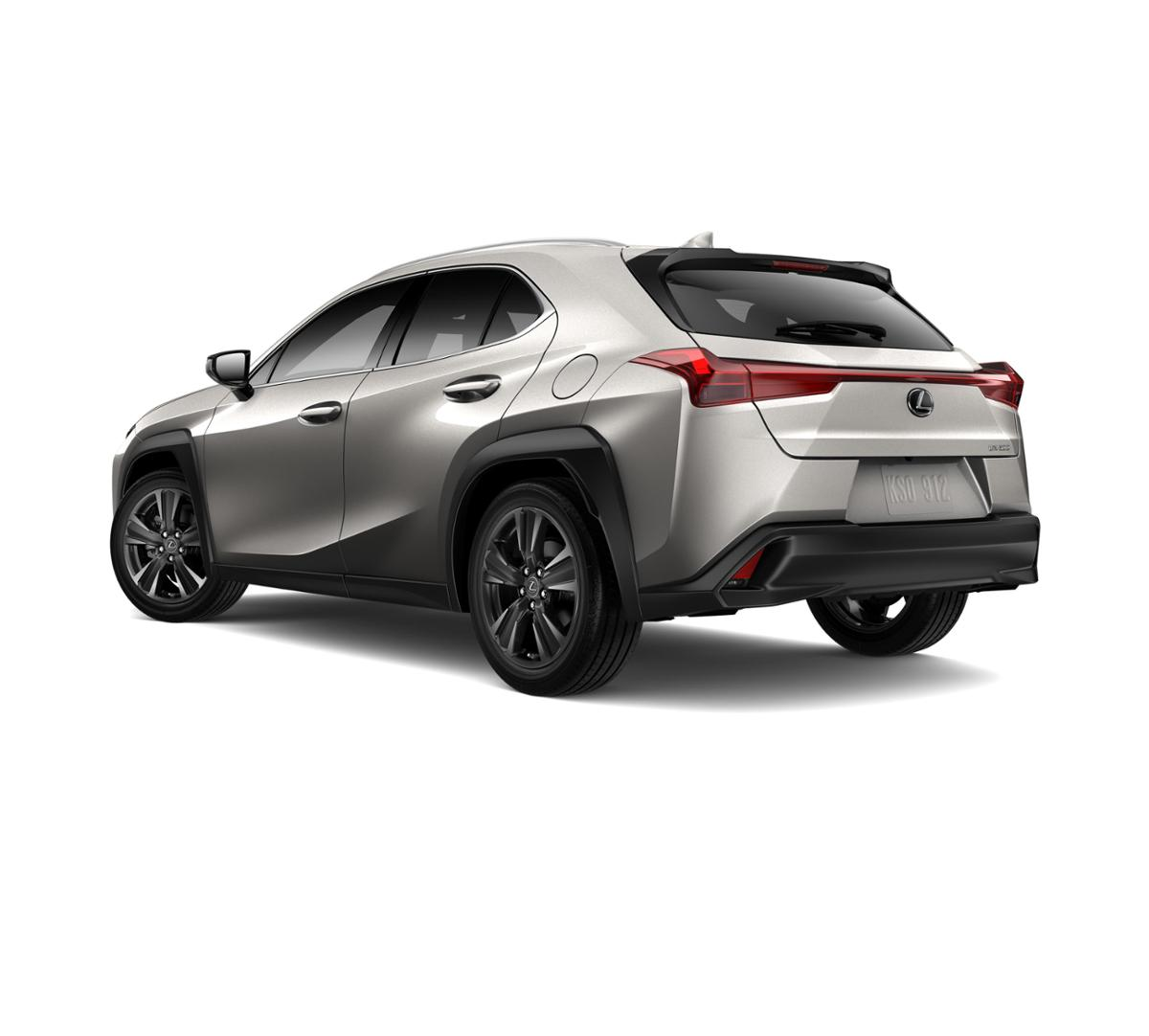 new 2019 atomic silver lexus ux 200 for sale in white plains ny w19553. Black Bedroom Furniture Sets. Home Design Ideas