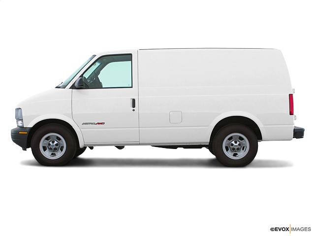 Las Vegas White 2001 Chevrolet Astro Cargo Van Used Cargo Van For Sale