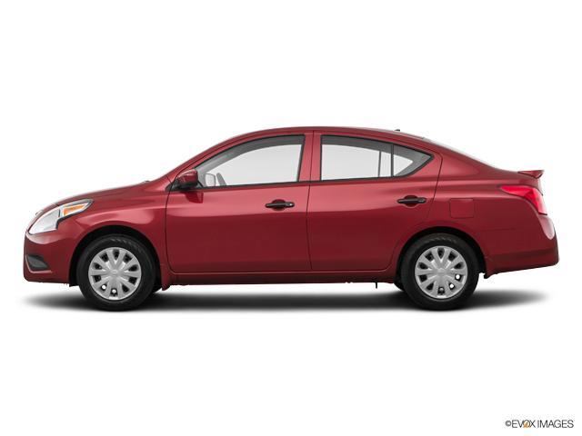 jonesboro red 2018 nissan versa sedan used car for sale bn24680. Black Bedroom Furniture Sets. Home Design Ideas
