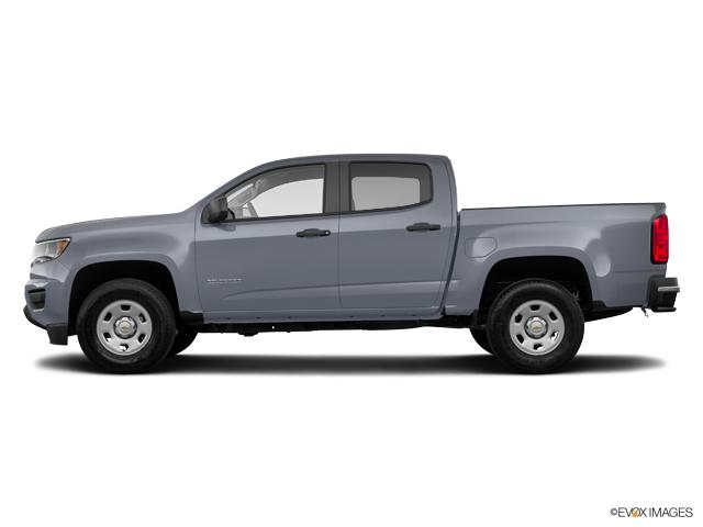 New Satin Steel Metallic 2019 Chevrolet Colorado Crew Cab