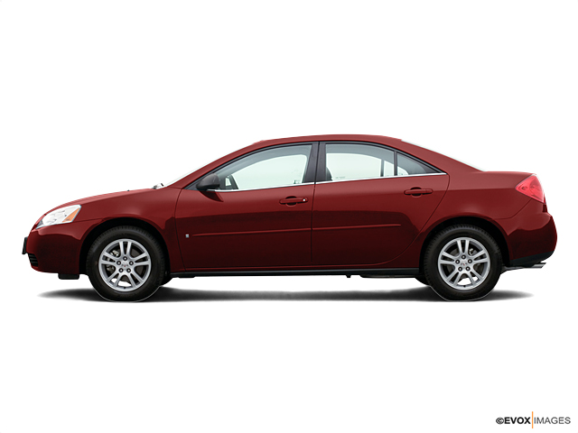Certified 2006 Pontiac G6 4dr Sdn 6-Cyl crimson red exterior na interior 4-speed automatic wod