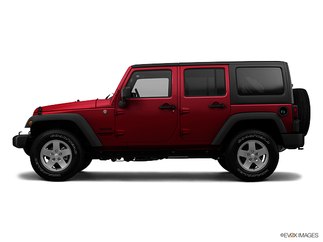 Rick Hendrick Jeep >> Used Car 2012 Deep Cherry Red Crystal Pearl Jeep Wrangler Unlimited Sahara For Sale in NC ...