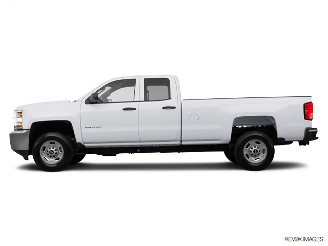Used Summit White 2015 Chevrolet Silverado 2500HD Double Cab Long Box 4-Wheel Drive Work Truck ...
