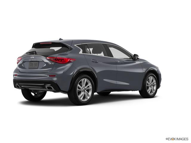 fort smith graphite shadow 2017 infiniti qx30 used suv for sale c2926b. Black Bedroom Furniture Sets. Home Design Ideas