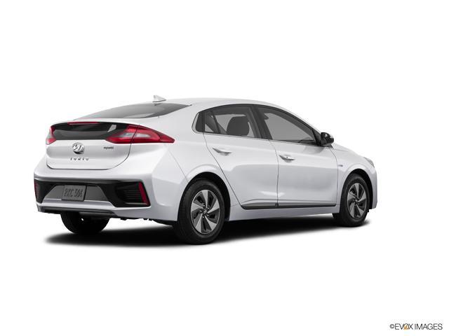2018 hyundai ioniq hybrid sel hatchback ceramic white 4dr. Black Bedroom Furniture Sets. Home Design Ideas