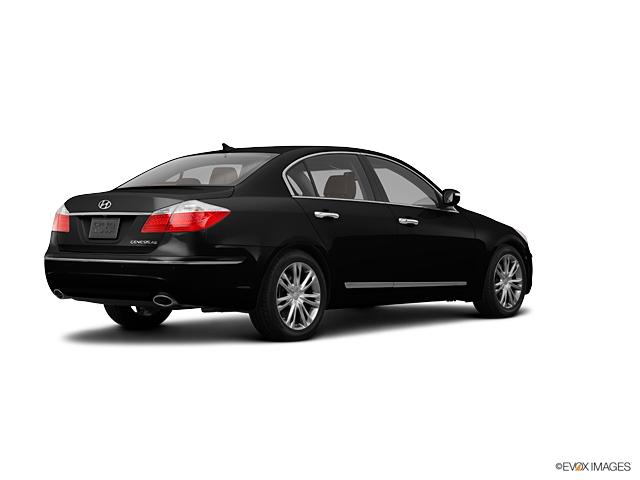 2011 Hyundai Genesis 4dr Sdn V8 Black Noir Pearl 4dr Car  A