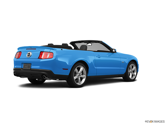 2011 ford mustang convertible grabber blue