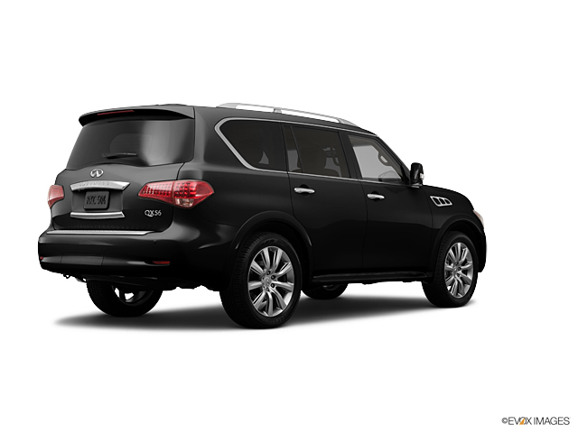 Cable Dahmer Chevrolet >> Used Black Obsidian 2012 INFINITI QX56 Suv for Sale in Independence, MO - B11837B