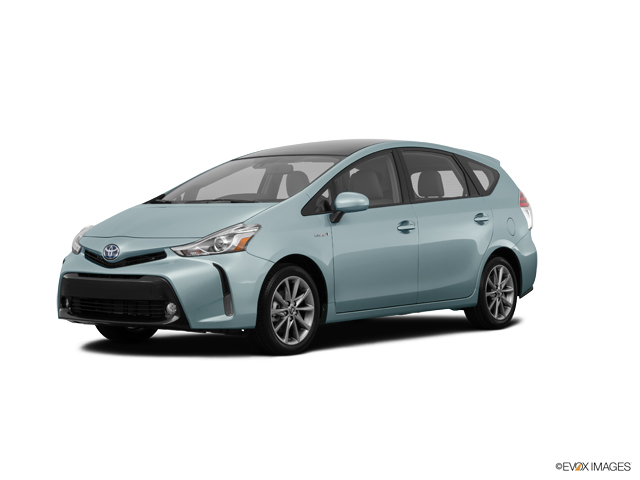Used Wagon 2015 Sea Glass Pearl Toyota Prius V Five For