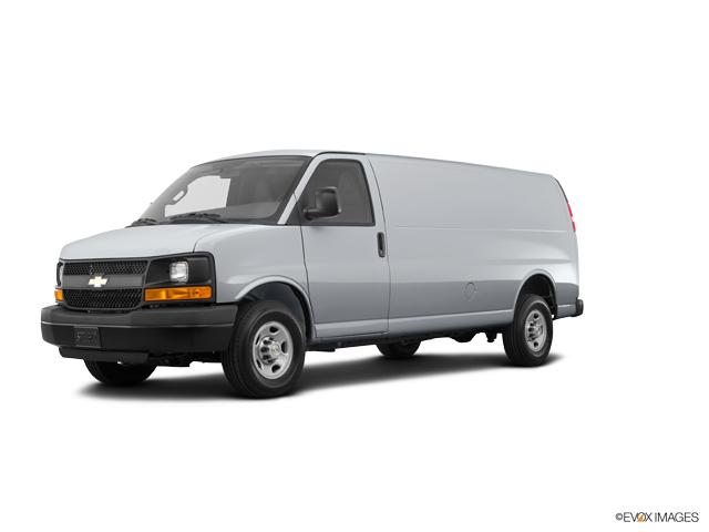 2016 Chevrolet Express Cargo Van Vehicle Photo in Vincennes, IN 47591
