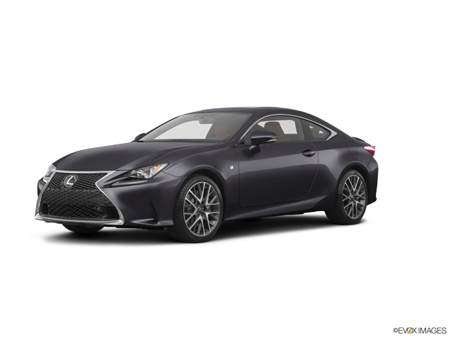 Certified Nebula Gray Pearl 2016 Lexus RC Turbo 2dr Cpe F ...