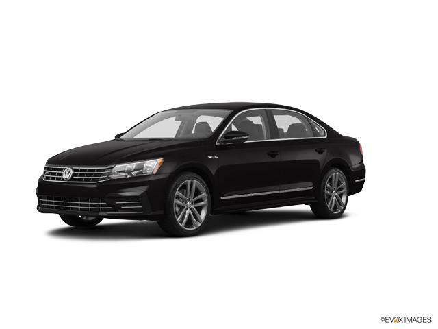 Certified 2017 Volkswagen Passat R-Line wComfort Pkg Auto deep black pearl effect exterior cornsi