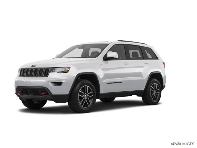 2017 Jeep Grand Cherokee Overland 4x4 White 4D Sport Utility