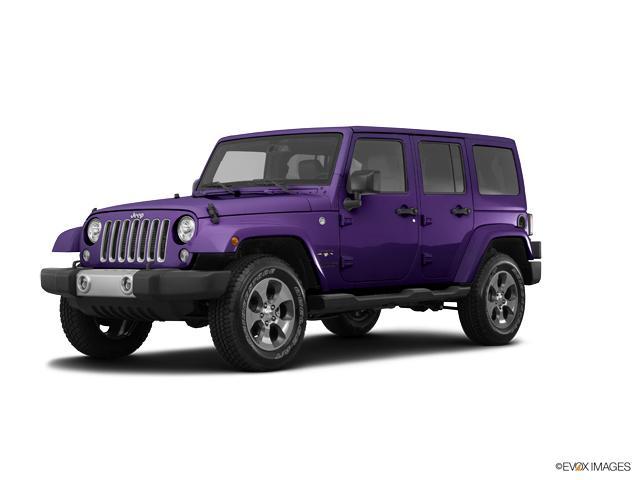 2017 Jeep Wrangler Unlimited Sahara 4x4 Xtreme Purple Pearlcoat Suv