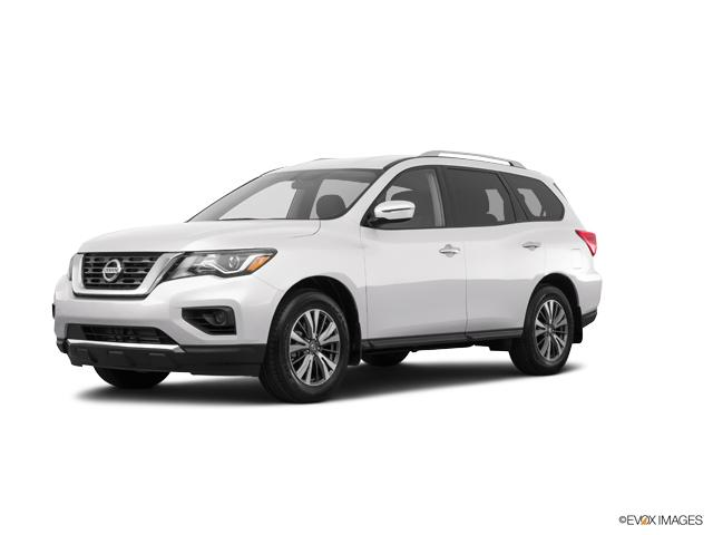 Wichita Glacier White 2017 Nissan Pathfinder Used Suv For Sale
