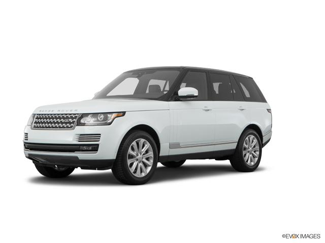 2017 Land Rover Range Rover Vehicle Photo in Charlotte, NC 28227