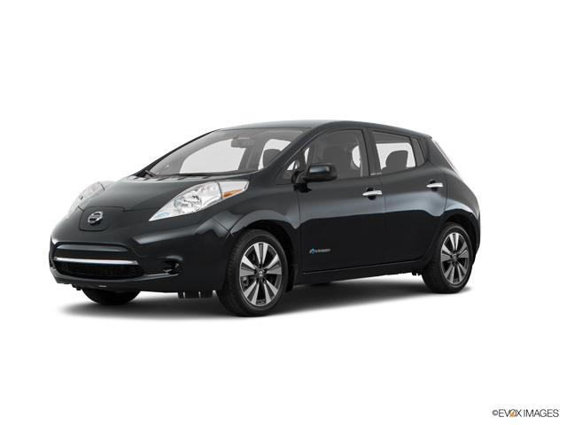 Used Black 2017 Nissan Leaf S For Sale In Old Saybrook Ct