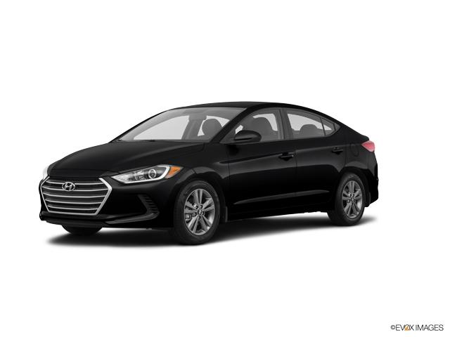 2018 Hyundai Elantra SEL Phantom Black SEL 4dr Sedan (US). A Hyundai