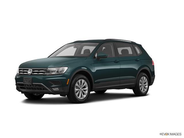 Certified 2018 Volkswagen Tiguan 20T SE 4MOTION deep black pearl metallic exterior titan black in