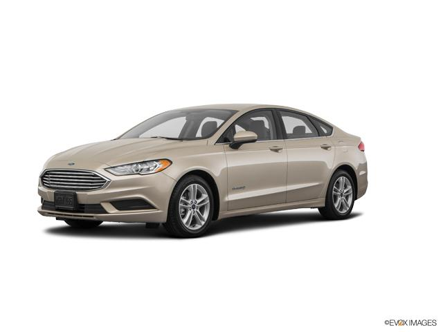 2018 Ford Fusion Hybrid Vehicle Photo in Joliet, IL 60435